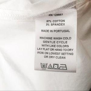 The Shirt by Rochelle Behrens Tops - THE SHIRT Rochelle Behrens Sleeveless Button Down